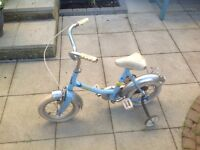 Childs bicycle for free.