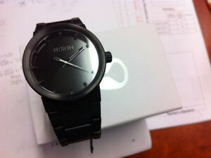Nixon Cannon Watch all Black