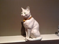 Cat - porcelin