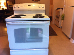 GE. Stove in great condition, and Super Clean