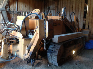 Case 450 Crawler Loader w/Backhoe & Counter-weight London Ontario image 4