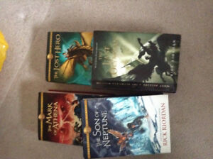 Percy Jackson Hard cover set
