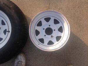 Trailer Tire / Wheel Windsor Region Ontario image 3