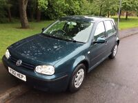 2001 Volkswagen Golf 1.9 SDI-12 months mot-service history-great economy-great value