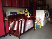 Crib package with many extras
