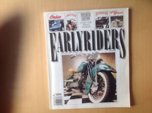 Early Riders Magazine #1 Edition Fall 1994
