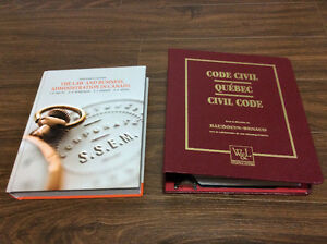 Law and Business & Quebec Civil Code (CITT/CCLP requirement)
