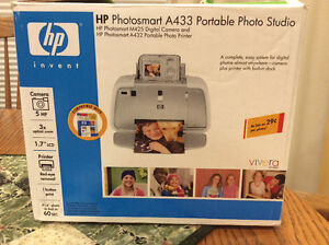 HP Photosmart A433 Portable Photo Studio