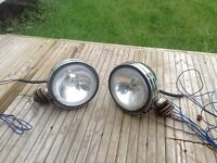 """4x4 Chrome Driving Spot Lights Lamps - 6"""" - Pair - Good Condition! Thanks for looking!"""