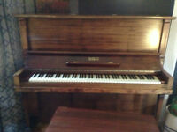 Piano and bench for sale-excellent condition