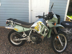 Trade my Kawasaki klr 650 for a car/truck