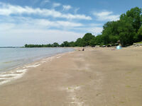 Cottage Lake Erie Long beach with bunkie sleeps 8 private