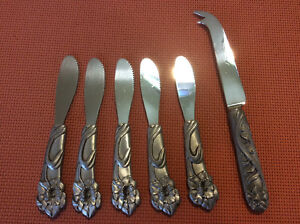 Seagull Pewter Knives
