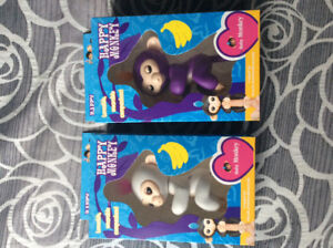 Two new in box Happy Monkey Fingerlings,  sold out in Stores