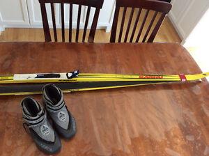 ski de patin et bottes