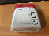 Canon 546 Color Cartridge and Canon 546 XL Color Cartridge