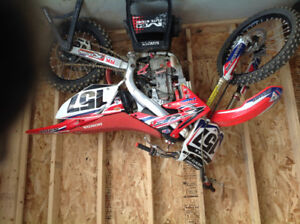 2008 crf450 im looking for a full exhaust fmf or yoshimura