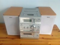 Sony CD, mini disk and tape player/recoders
