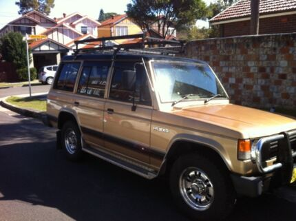 Pajero campervan Perfect for backpackers  Bondi Beach Eastern Suburbs Preview