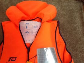 Large and small life jackets