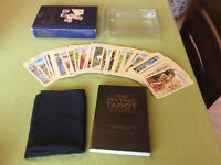 The Mythic Tarot cards boxed set Tarot Cards books and cloth