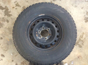 Pneus hiver pick-up,rims,jante,4x4,gmc