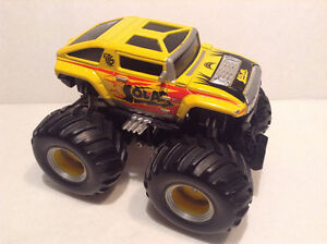 Diecast Hummer Monster truck pull back toy