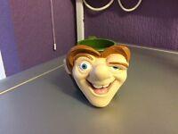 Walt Disney Hunchback of Notre Dame Plastic Quasimodo Mug