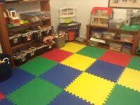 Opening in Home Daycare