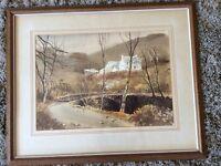 Original watercolour by John Darlison entitled Autumn near Brecon
