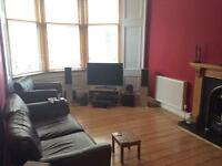 FURNISHED WEST END 2 BEDROOM GROUND FLOOR FLAT FOR RENT £650PCM + BILLS