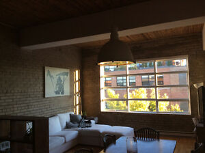 Furnished Condo in Little Italy, safe building, large terrace