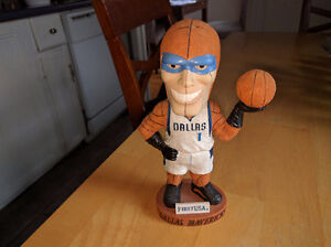 Dallas Mavericks Mascot Bobblehead Mavs Man