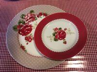 Next Scarlet Rose 4 piece dinner set