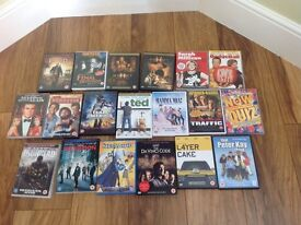 Job lot 19 DVD's only £5