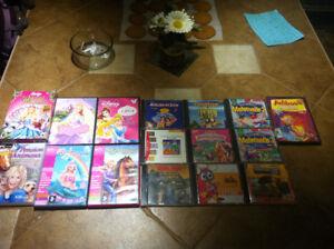 Lot de 26 jeux PC pour enfants (éducatifs et pour filles)