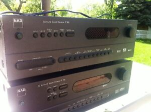 NAD Surround Receivers  x 2 for parts