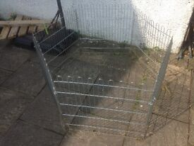 Guinea pig rabbit run pen
