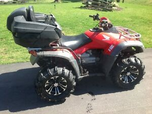 Why buy new!  Excellent ATV with new tires/rims