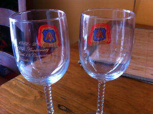 Hamilton-Niagara Carpenters Stemmed Glasses Cambridge Kitchener Area image 3
