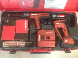 Hilti Kit: DX 351 BT  Powder Actuated Tool, Xbt 4000-A Drill