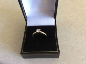9 ct gold ring hallmarked