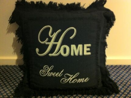 """Cushion """"Home Sweet Home"""" Salamander Bay Port Stephens Area Preview"""