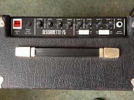 Sessionette 75 for sale - Complete working order, session badge missing