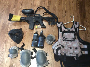 Kit de paintball complet