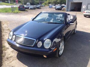 2001 Mercedes CLK 430 décapotable