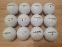 12 PINNACLE DIMENSION GOLF BALLS IN ABSOLUTELY MINT CONDITON