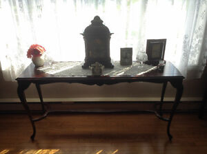Antique sofa table