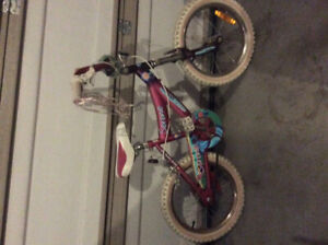Girl's bike. 16 inch