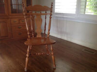 ROXTON wooden chairs